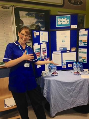 Think Drink Campaign Nottingham University Hospitals | Fab