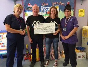 RLI CHILDREN'S WARD RECEIVES £5,000 DONATION featured image
