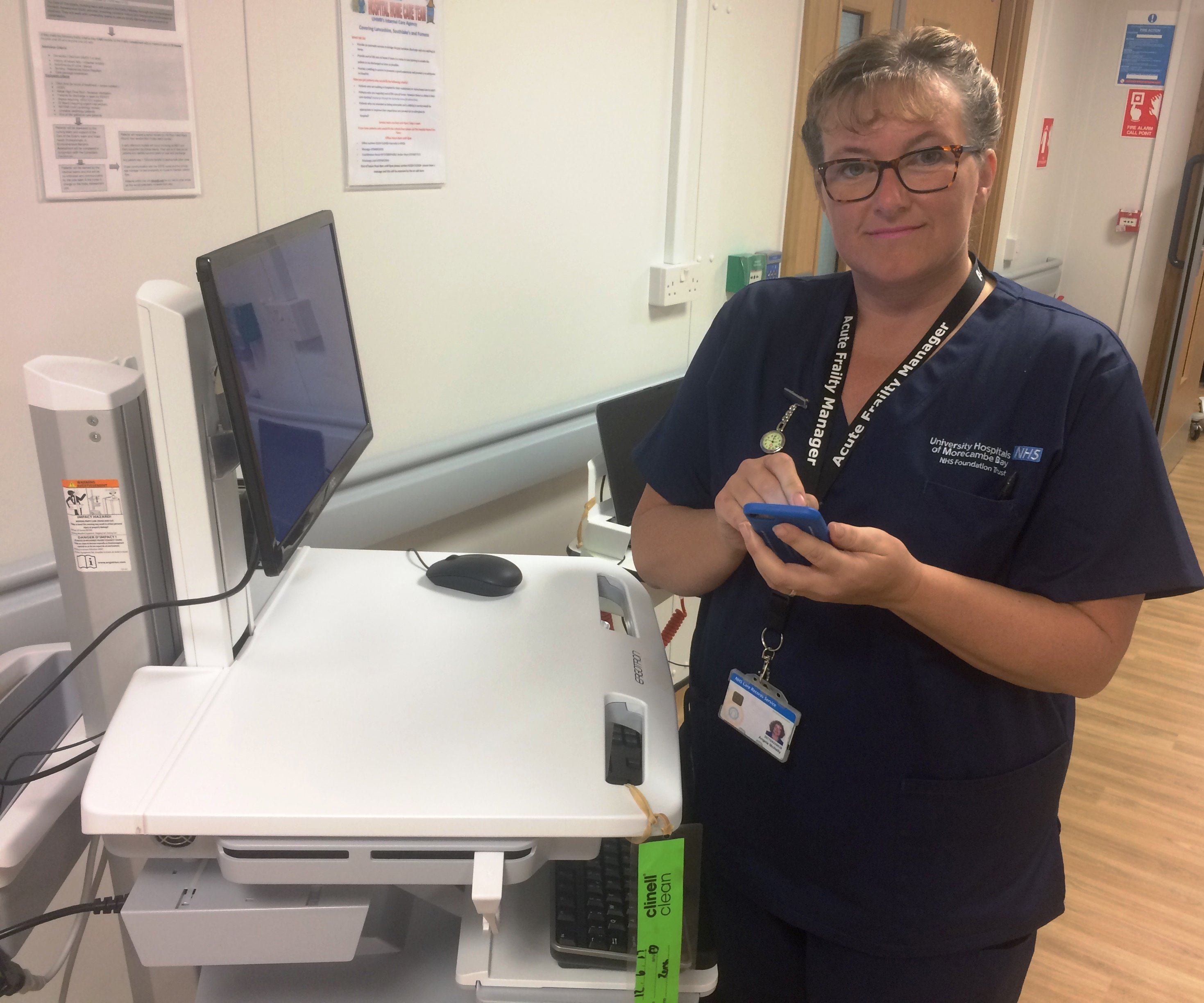 Mobile devices help nurses deliver healthcare at the point of care featured image