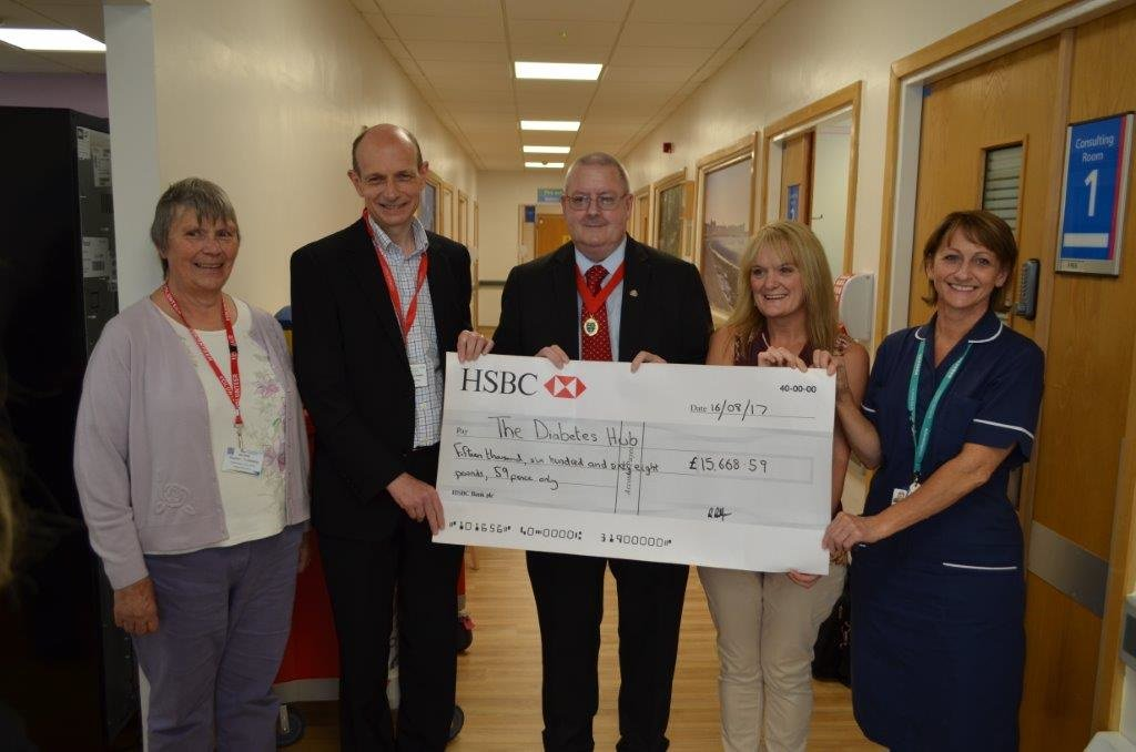 Patient raises nearly £16k for new diabetes centre featured image