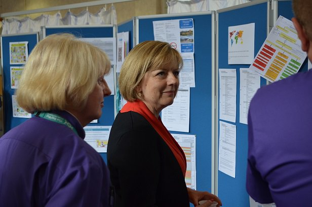 "UHMBT showcases ""phenomenally powerful"" work to Chief Nursing Officer for NHS England featured image"