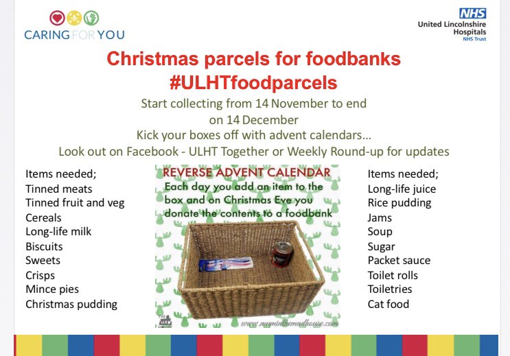 ULHT Looking after the wider community at Christmas featured image