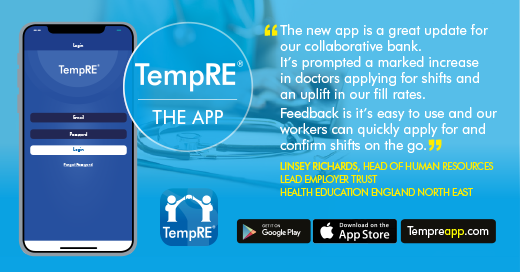 Liaison launches the TempRE mobile app, enabling 'shifts on the go' for locums featured image