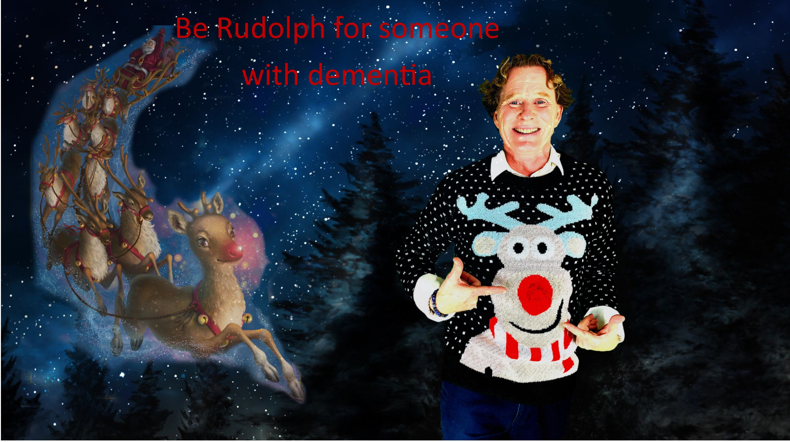 Rudolph the dementia reindeer includes everyone in the Christmas celebrations featured image