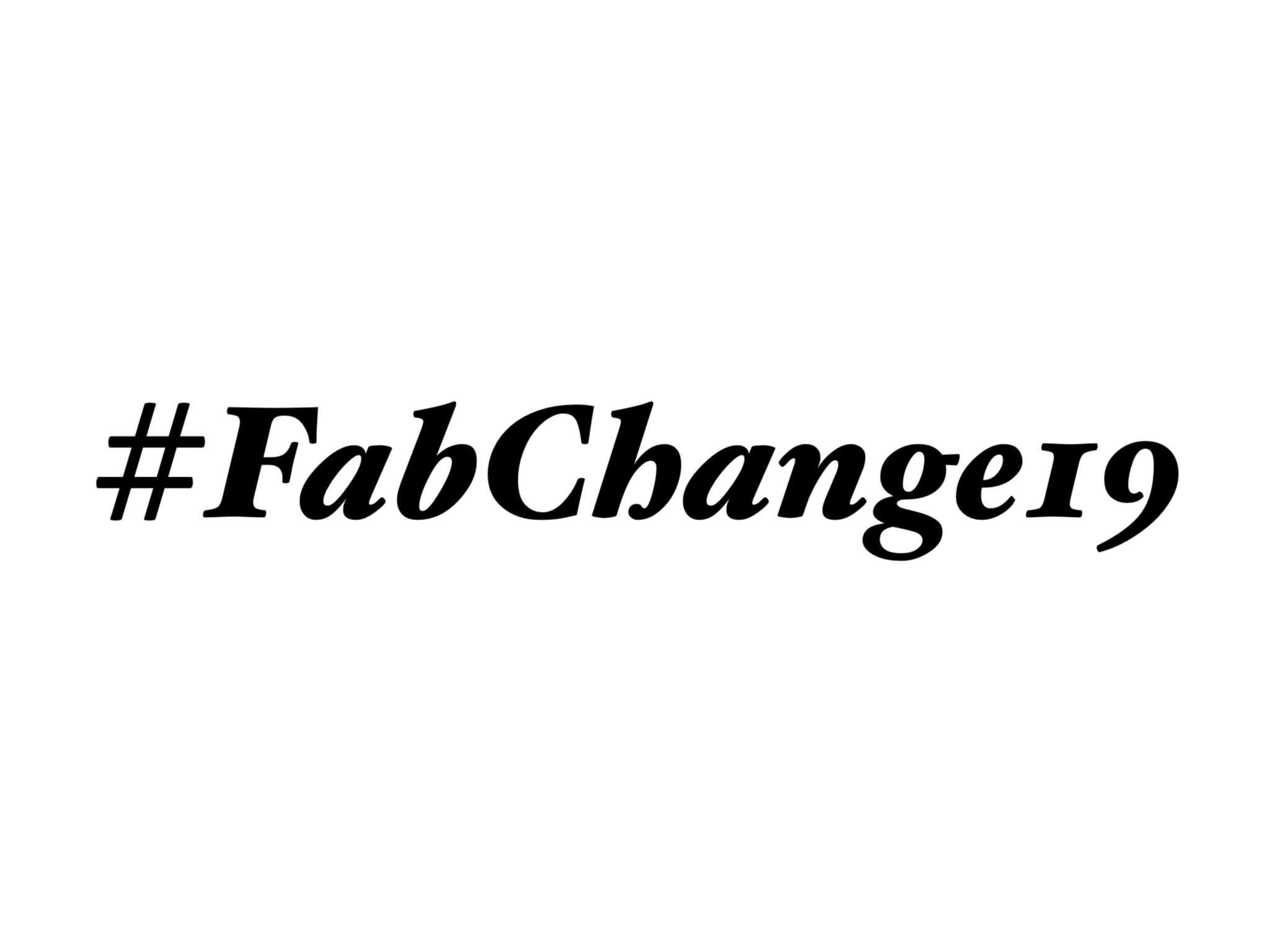 #FabChange19 - October 16th 2019 featured image