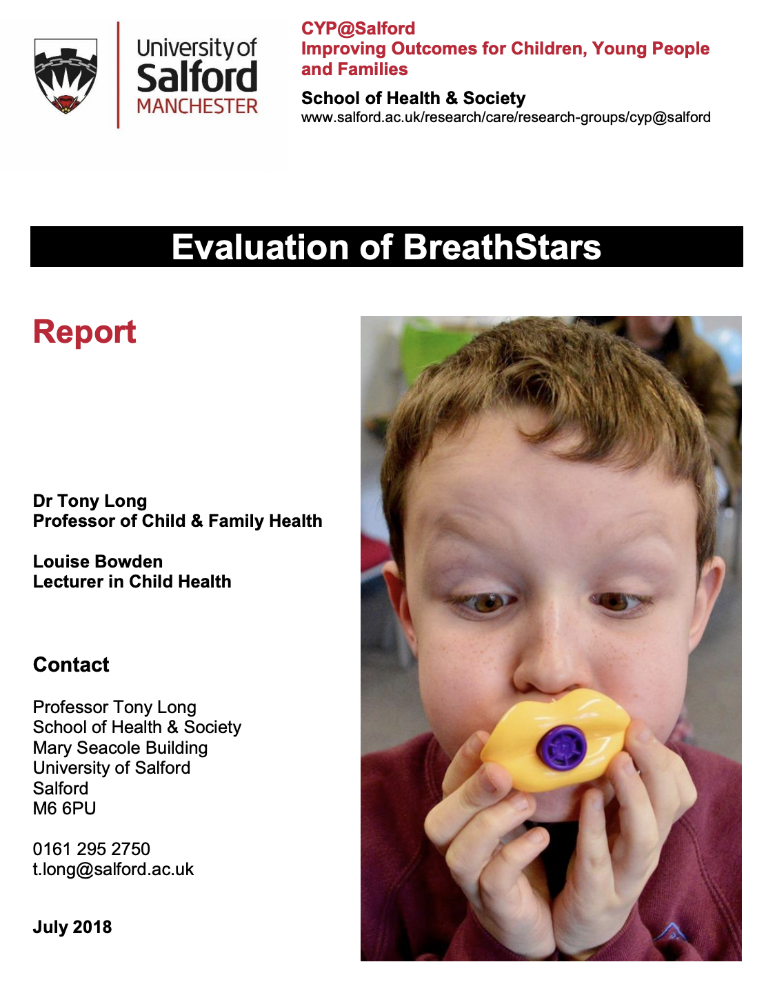 BreathStars - can singing help children with asthma? featured image