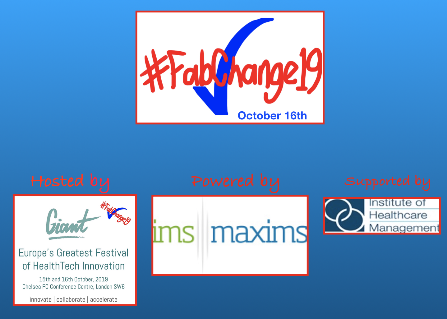 Fab Change 2019 at Addenbrookes Hospital - Women and Children's featured image