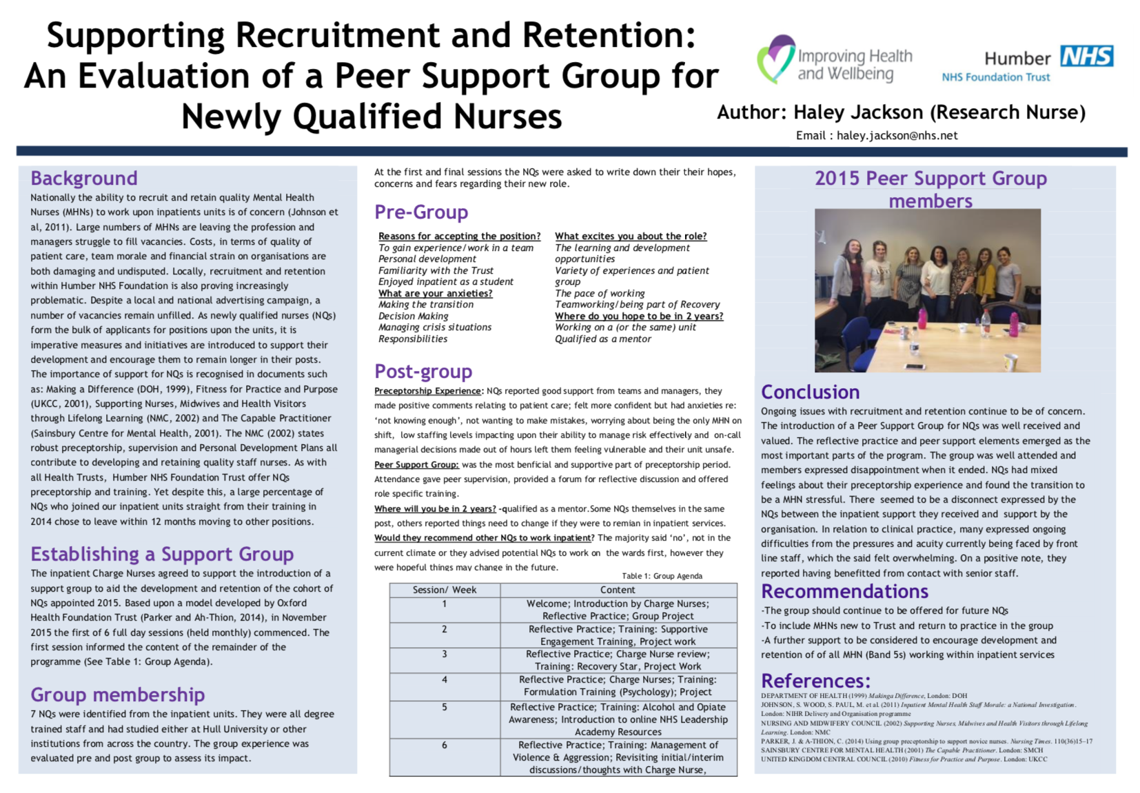 Retaining MH Staff in Humber Teaching NHS Foundation Trust featured image