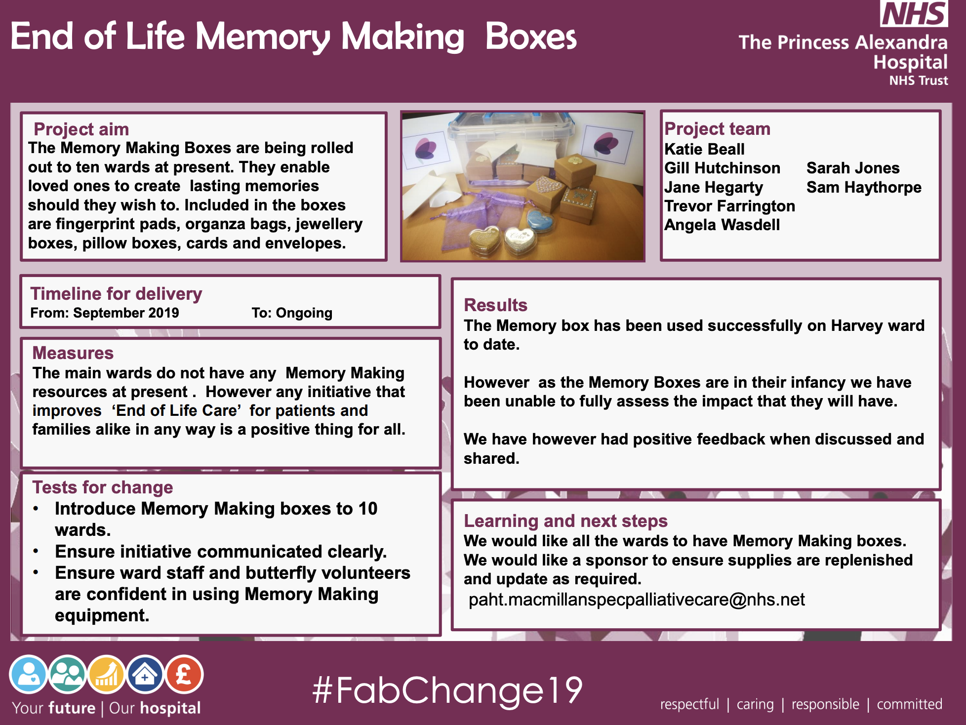 PAHT - End of Life Memory Making Boxes - @QualityFirstPAH featured image