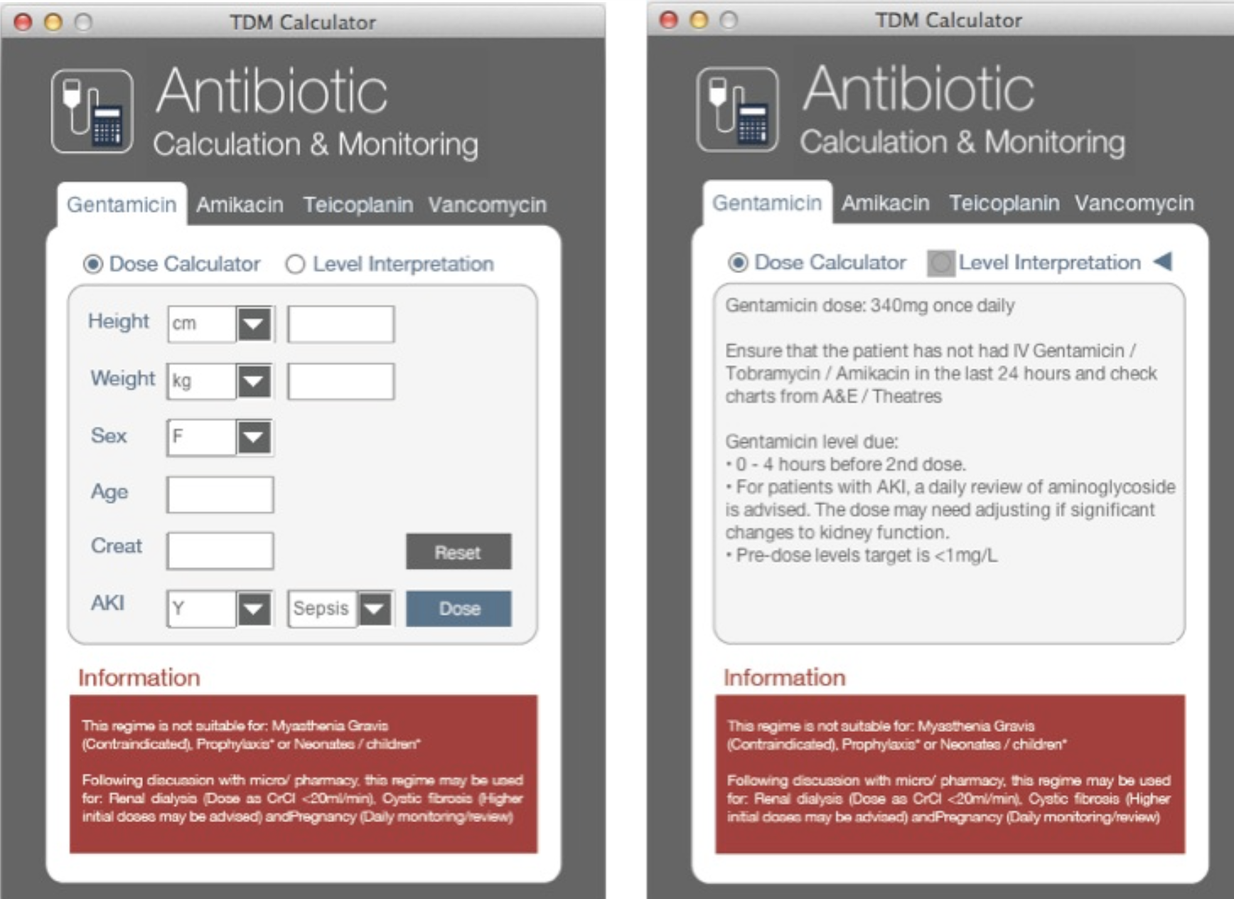 Antibiotic Calculation and Monitoring System featured image