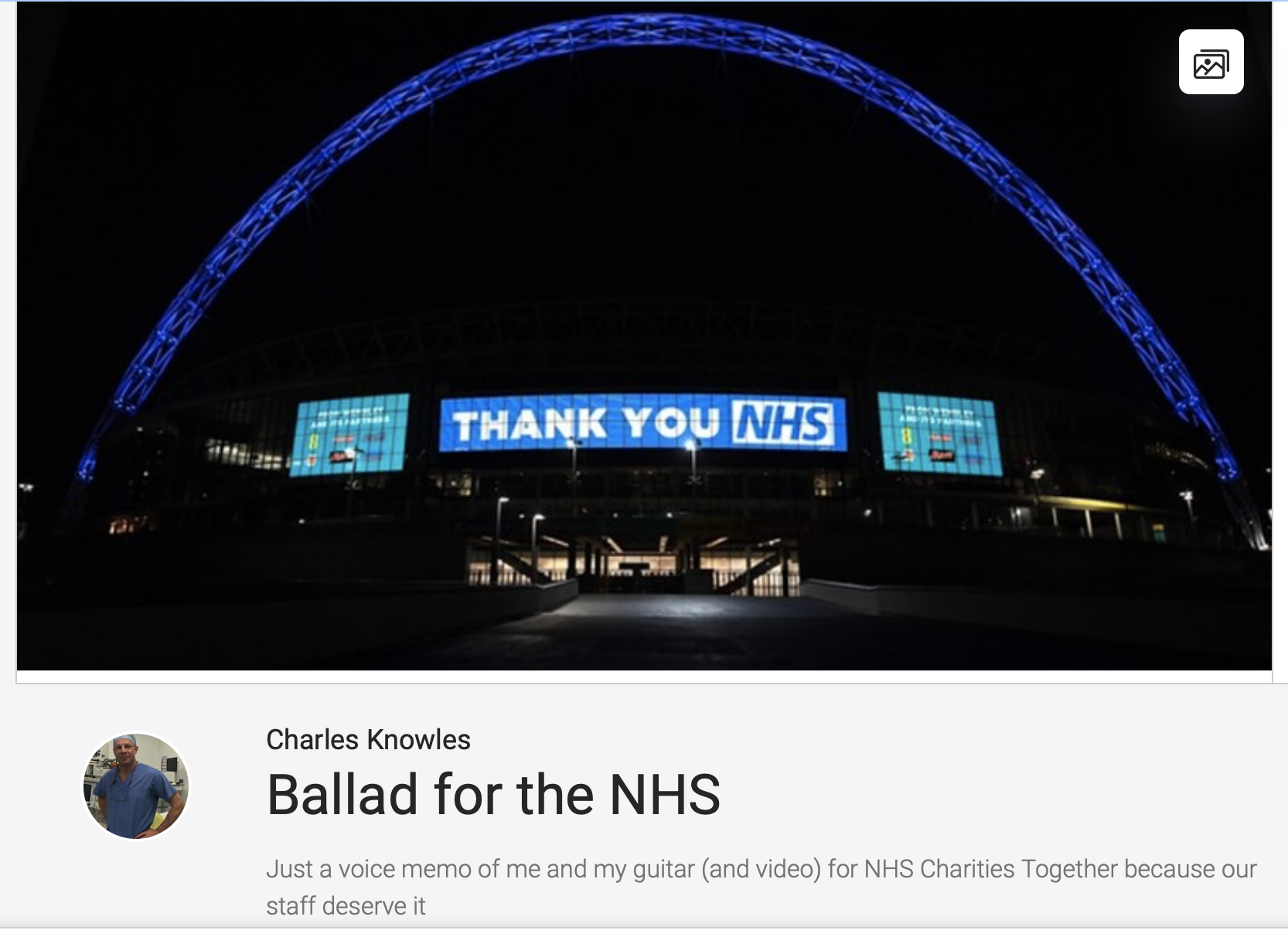 Ballard to the NHS featured image