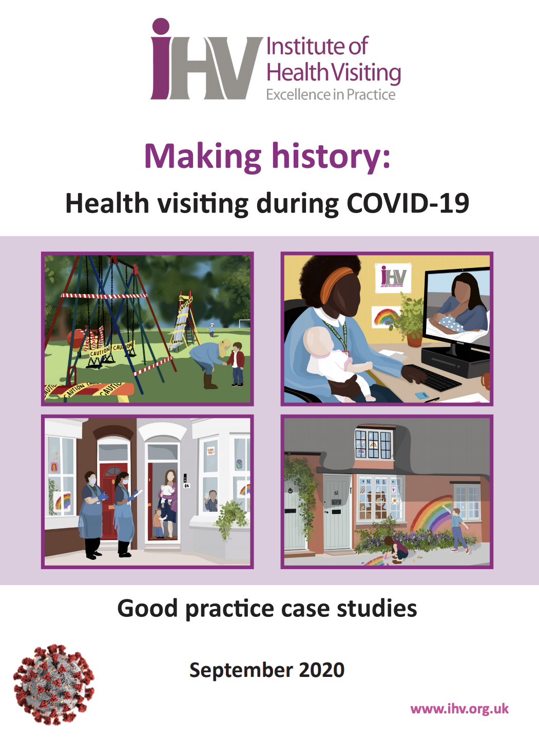 HV during Covid - Case Study - taking a support group for mothers with low mood and anxiety online featured image
